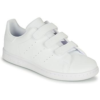 Scarpe Unisex bambino Sneakers basse adidas Originals STAN SMITH CF C