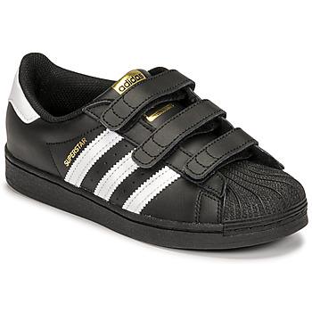Schuhe Kinder Sneaker Low adidas Originals SUPERSTAR CF C Weiß