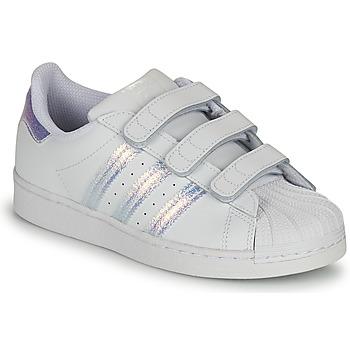 Chaussures Enfant Baskets basses adidas Originals SUPERSTAR CF C