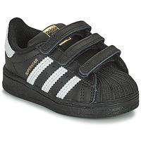 Scarpe Unisex bambino Sneakers basse adidas Originals SUPERSTAR CF I