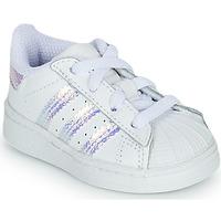 Chaussures Fille Baskets basses adidas Originals SUPERSTAR EL I