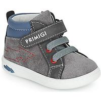 Schuhe Jungen Sneaker High Primigi BABY LIKE Grau / Blau