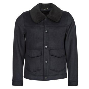 Abbigliamento Uomo Cappotti Scotch & Soda SHERPA-TRIMMED WOOL