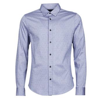 Abbigliamento Uomo Camicie maniche lunghe Scotch & Soda CLASSIC SLIM FIT KNITTED