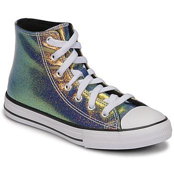 Chaussures Fille Baskets montantes Converse CHUCK TAYLOR ALL STAR IRIDESCENT GLITTER HI
