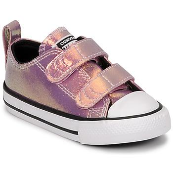 Schuhe Mädchen Sneaker Low Converse CHUCK TAYLOR ALL STAR 2V IRIDESCENT GLITTER OX