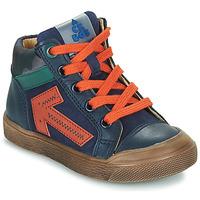 Schuhe Jungen Sneaker High Acebo's 5567-MARINO-J Marineblau