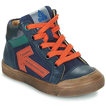 Schuhe Jungen Sneaker High Acebo's 5567-MARINO-I Marineblau