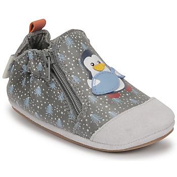 Chaussures Garçon Chaussons bébés Robeez BLUE PINGUINS