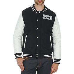 Abbigliamento Uomo Giubbotti Wati B OUTERWEAR JACKET Nero / Bianco