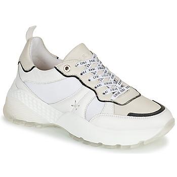 Schuhe Damen Sneaker Low Ikks  Weiß