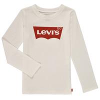 Vêtements Fille T-shirts manches longues Levi's LS BATWING TEE