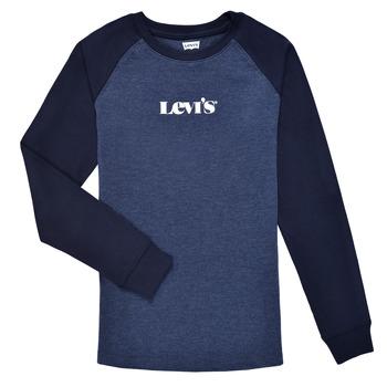 Vêtements Garçon T-shirts manches longues Levi's LONG SLV WAFFLE TEE SHIRT