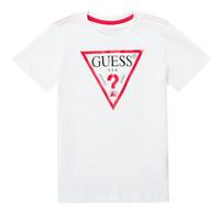 Vêtements Garçon T-shirts manches courtes Guess MILLO
