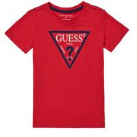 Vêtements Garçon T-shirts manches courtes Guess THERONN