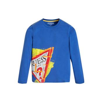 Abbigliamento Bambino T-shirts a maniche lunghe Guess LISTIN