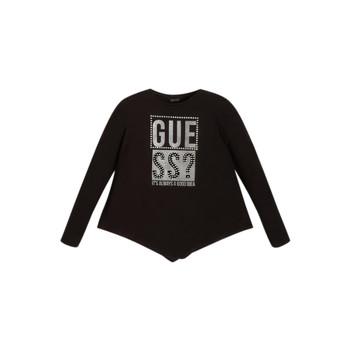 Abbigliamento Bambina T-shirts a maniche lunghe Guess UPSET
