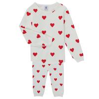 Vêtements Fille Pyjamas / Chemises de nuit Petit Bateau CASSANDRE