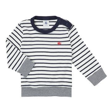 Abbigliamento Bambino T-shirts a maniche lunghe Petit Bateau IGRAE