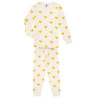 Vêtements Fille Pyjamas / Chemises de nuit Petit Bateau LERINU
