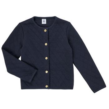 Vêtements Fille Gilets / Cardigans Petit Bateau COLYNNE