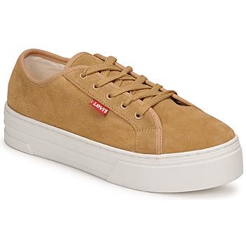 Schuhe Damen Sneaker Low Levi's TIJUANA Braun,