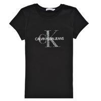Abbigliamento Bambina T-shirt maniche corte Calvin Klein Jeans VOYAT