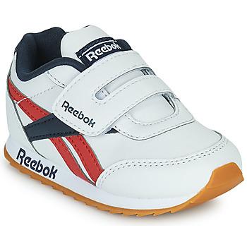 Schuhe Kinder Sneaker Low Reebok Classic REEBOK ROYAL CLJOG 2  KC Weiß / Marineblau / Rot