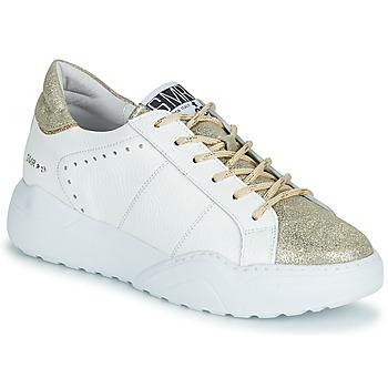 Schuhe Damen Sneaker Low Semerdjian KYLE Weiß / Golden