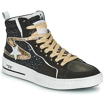 Schuhe Damen Sneaker High Semerdjian MARAL Golden