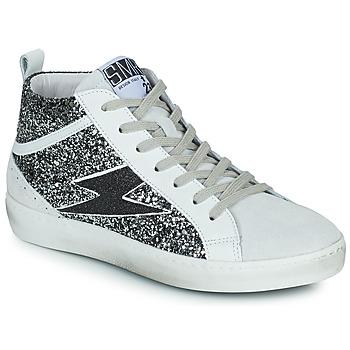 Schuhe Damen Sneaker High Semerdjian ALFA Beige