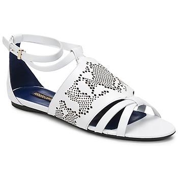 Schuhe Damen Sandalen / Sandaletten Roberto Cavalli TPS918 Weiss