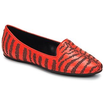 Schuhe Damen Slipper Roberto Cavalli TPS648 Rot