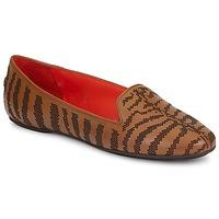 Schuhe Damen Slipper Roberto Cavalli TPS648 Braun