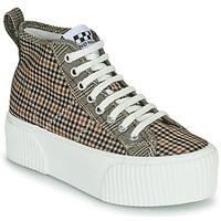 Schuhe Damen Sneaker High No Name IRON MID Braun,