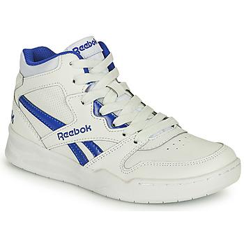 Scarpe Unisex bambino Sneakers alte Reebok Classic BB4500 COURT