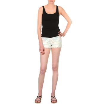 Abbigliamento Donna Shorts / Bermuda School Rag SELENA FLOWERS Bianco / Fleuri