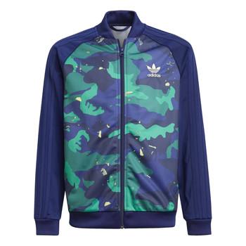 Kleidung Jungen Trainingsjacken adidas Originals HARRA Bunt
