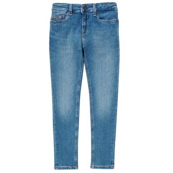 Vêtements Garçon Jeans skinny Tommy Hilfiger SIMON