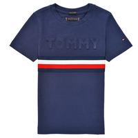 Vêtements Garçon T-shirts manches courtes Tommy Hilfiger ELEONORE