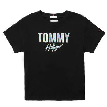 Vêtements Fille T-shirts manches courtes Tommy Hilfiger SAMIA