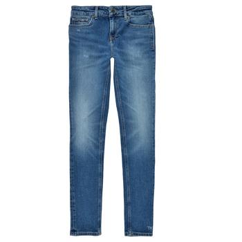 Vêtements Fille Jeans skinny Tommy Hilfiger JEANNOT