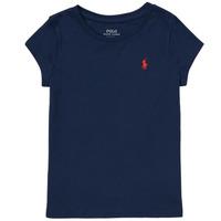 Abbigliamento Bambina T-shirt maniche corte Polo Ralph Lauren DRETU