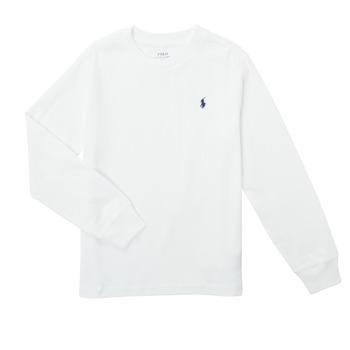 Vêtements Garçon T-shirts manches longues Polo Ralph Lauren KEMILO