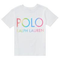 Kleidung Mädchen T-Shirts Polo Ralph Lauren FERILO Weiß