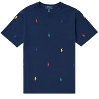 Abbigliamento Bambino T-shirt maniche corte Polo Ralph Lauren MOULINE