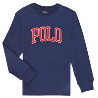 Vêtements Garçon T-shirts manches longues Polo Ralph Lauren METIKA