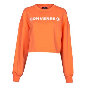 Vêtements Femme Sweats Converse EMBROIDERED WORDMARK CREW