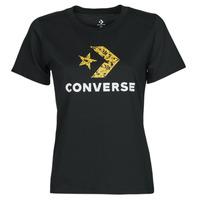 Kleidung Damen T-Shirts Converse STAR CHEVRON HYBRID FLOWER INFILL CLASSIC TEE