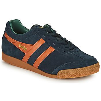 Schuhe Herren Sneaker Low Gola HARRIER Marine / Orange